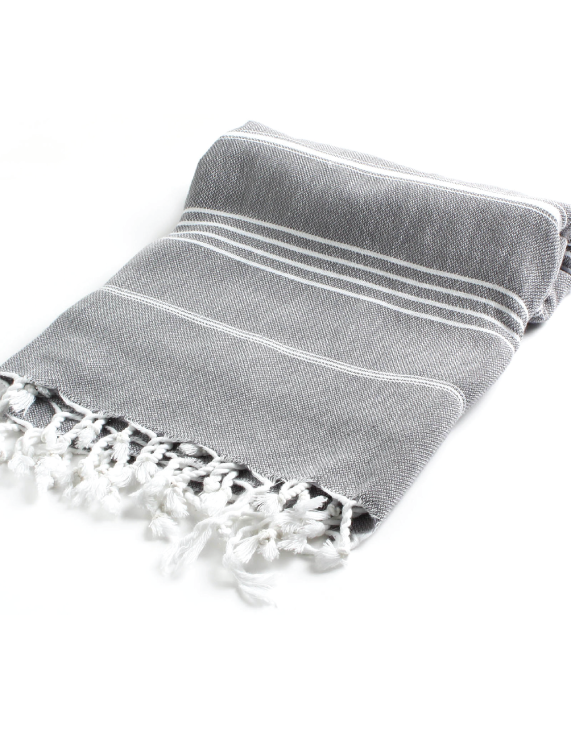 Image of Sea + Me turkish towel - charcoal