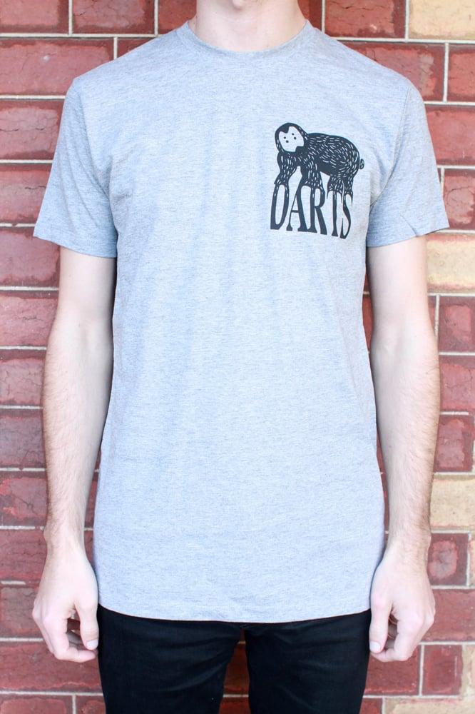 Image of Grey Darts Tee