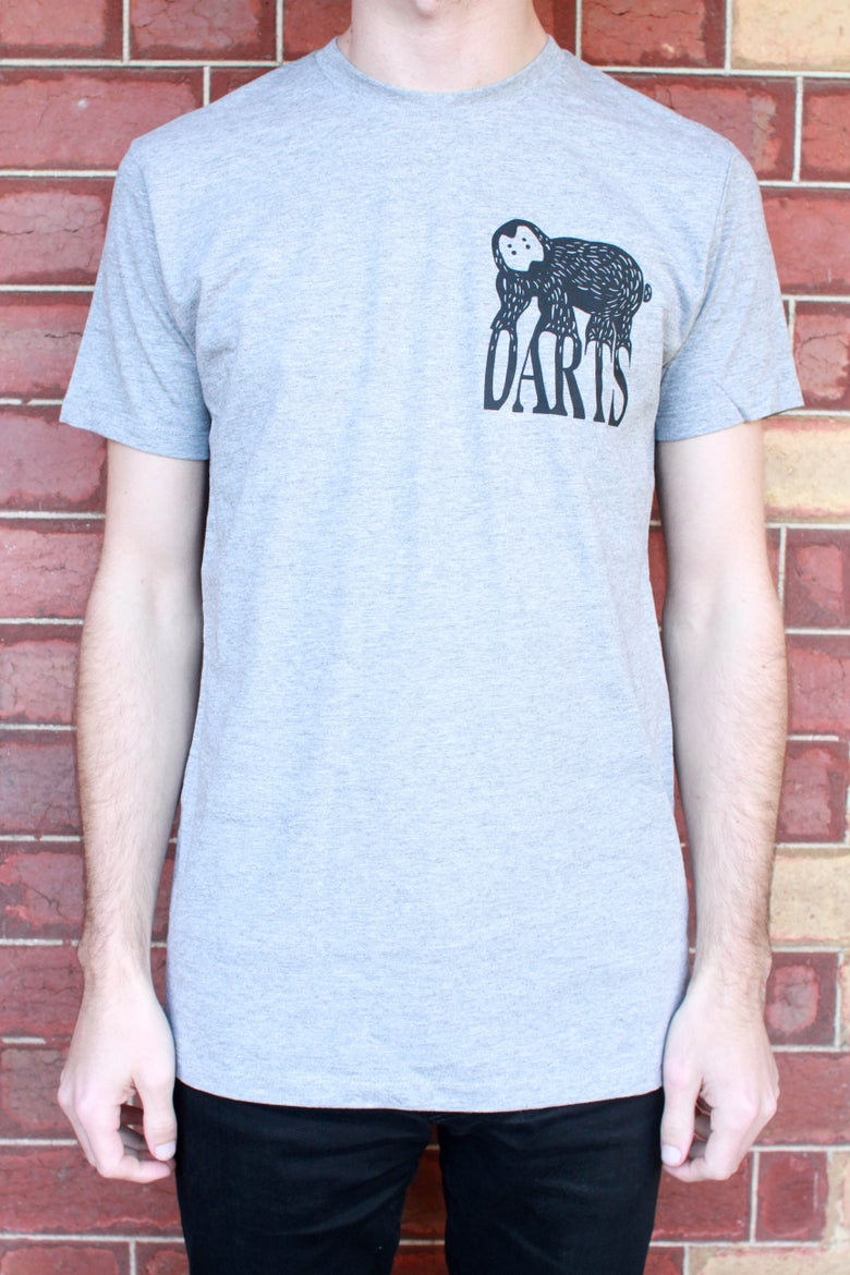 Image of Grey Darts Tee