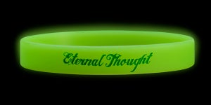 Image of 'Eternal Thought' Wristband