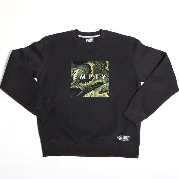 Image of SNAKE CREWNECK