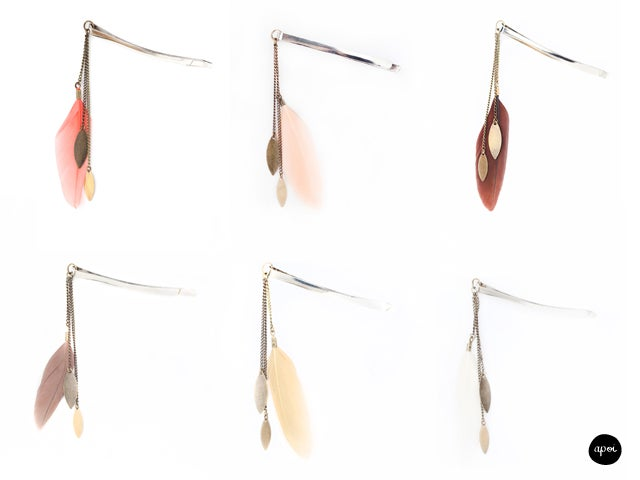 Image of PROMO- 50% Barrettes Hippie