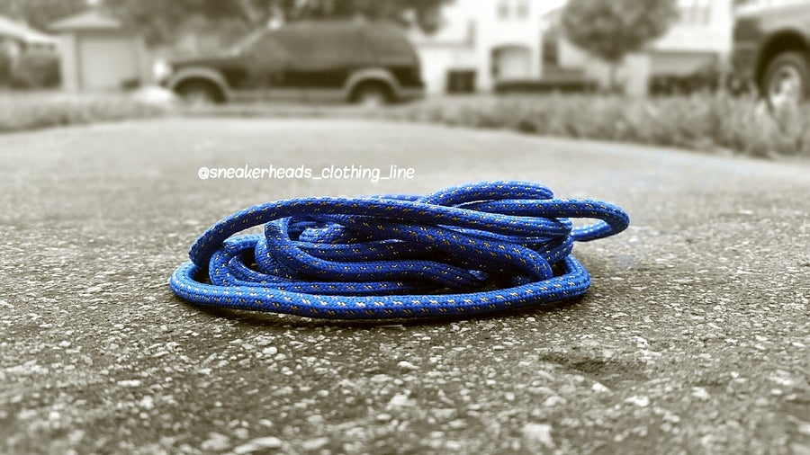 """Image of Exclusive """"Metallic Gold"""" Custom Rope Shoe Laces (6 Colorways)"""