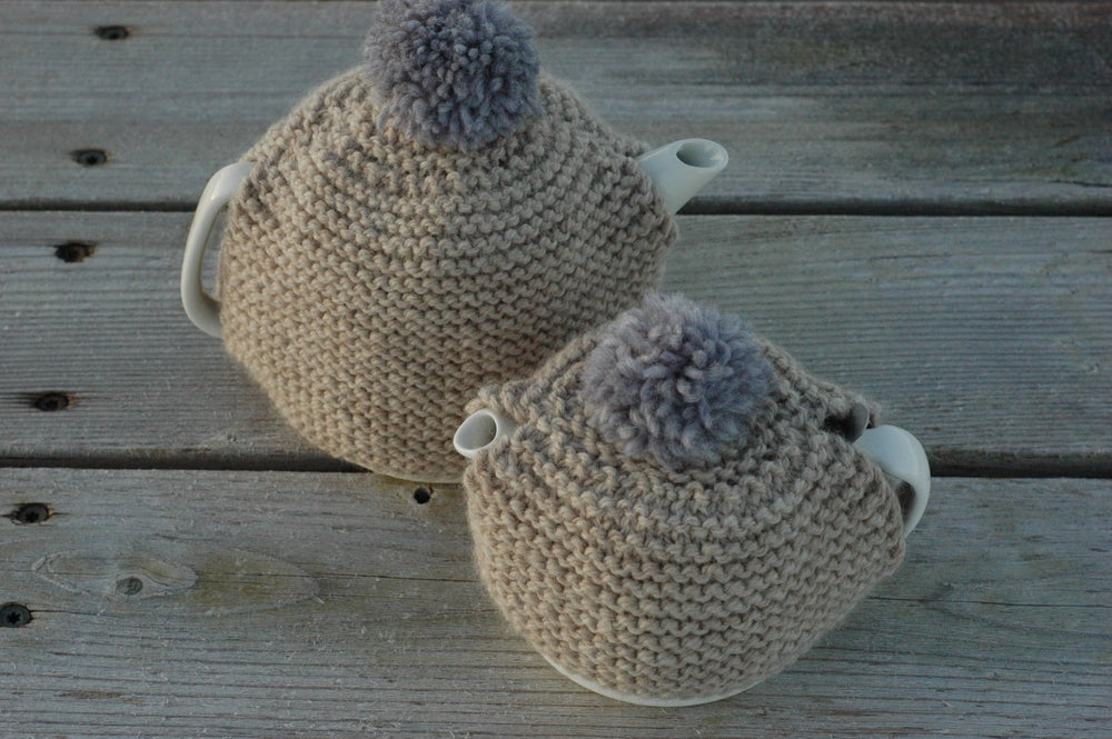 Image of Small + Large Teapot Cozy Pattern Booklet (PDF)