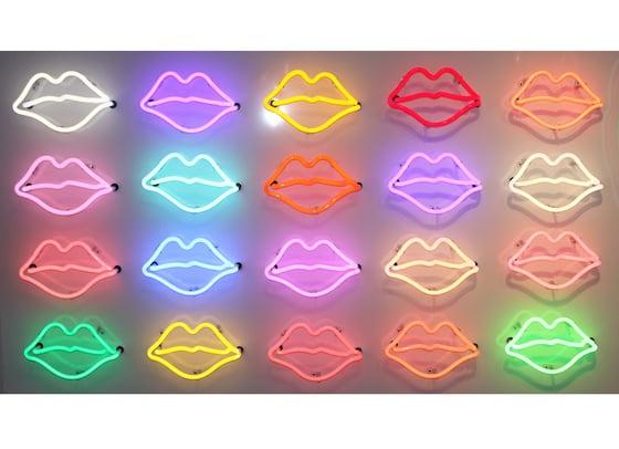 Image of 20 Neon Lips