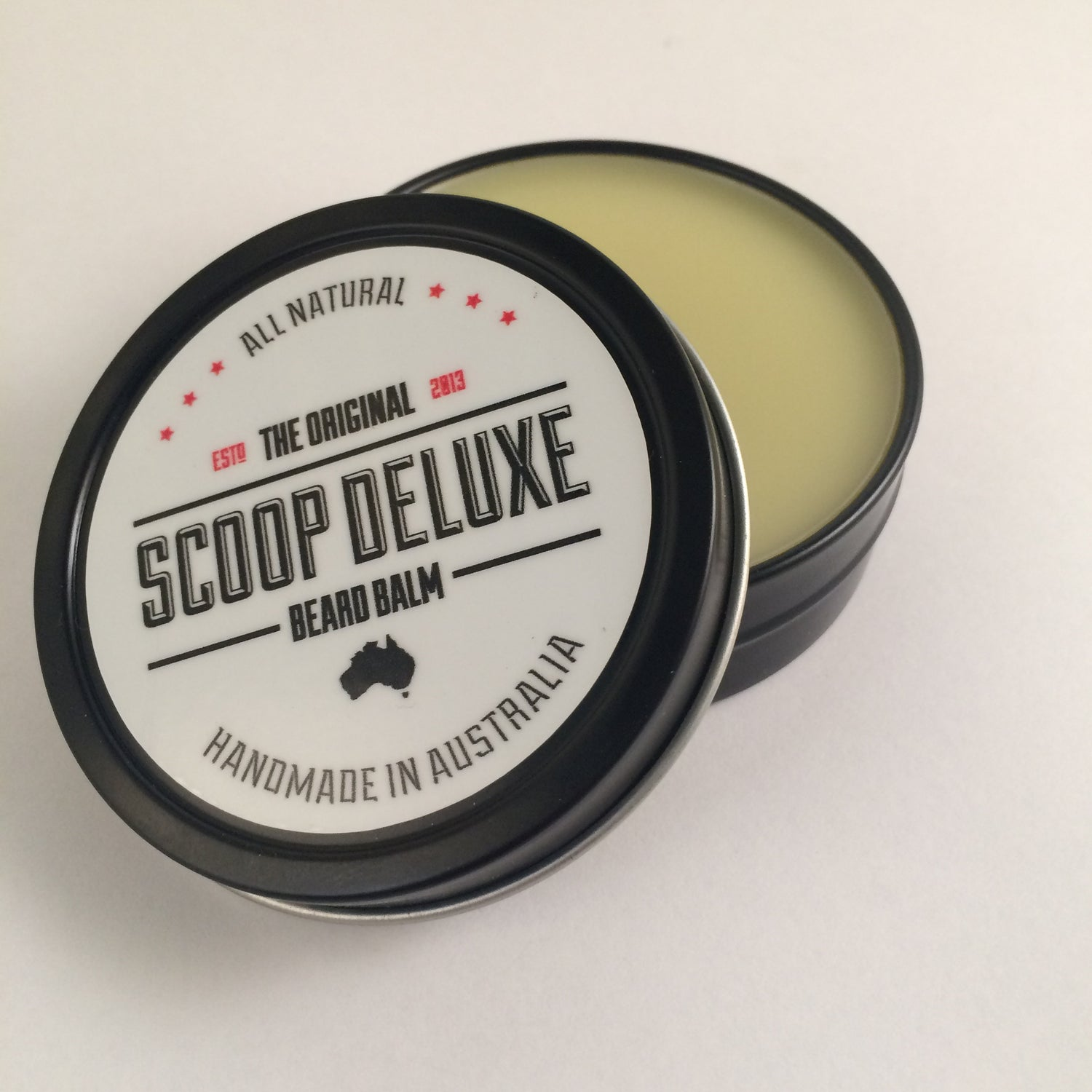 Image of 2oz Scoop Deluxe Beard Balm Original
