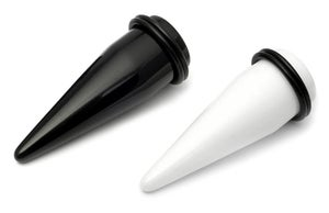 Image of Big Size Large Gauge Acrylic Ear Stretching Tapers 18mm - 22mm