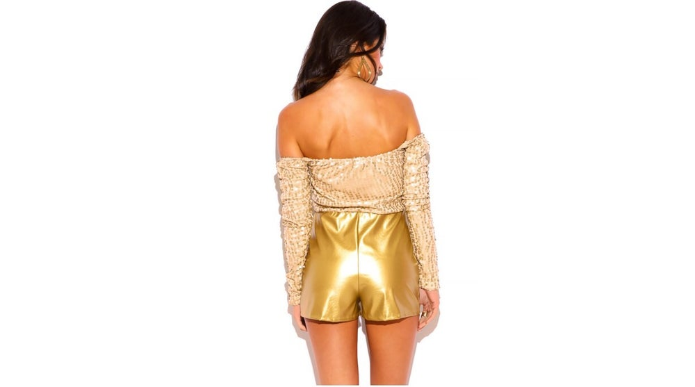 Image of Sequin Romper