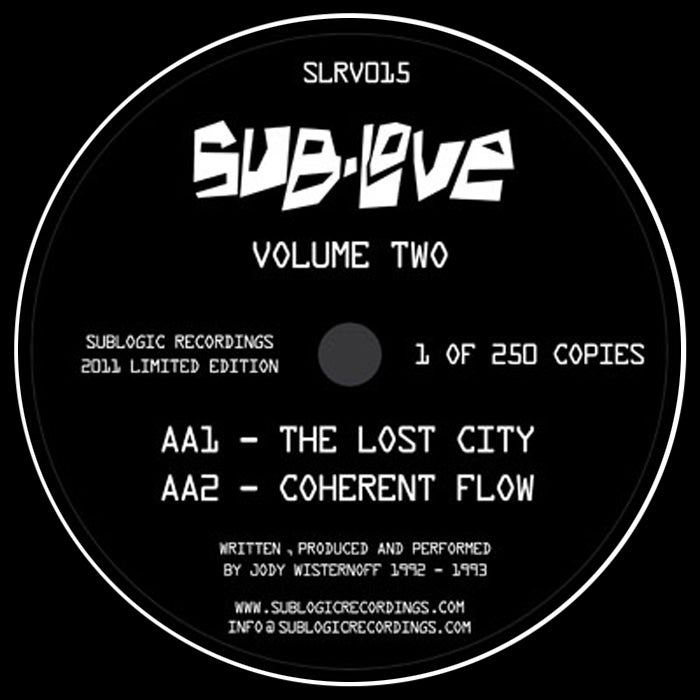 "Image of Sub Love - Volume 2 EP - SLRV015 - 12"" Vinyl - SOLD OUT"