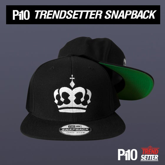 Image of Black #TrendSetter Crown  Snapback