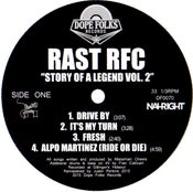 "Image of RAST RFC ""THE STORY OF A LEGEND"" (BLACK VINYL)"
