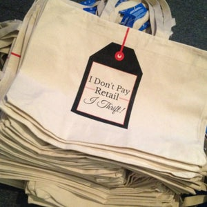 Image of I Don't Pay Retail, I Thrift! Tote