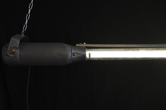 Image of Vintage Industrial Explosion Proof Light