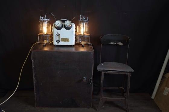 Image of Vintage Industrial Engineers Cabinet.