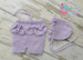 Image of Ruffle Shorties with Flower Tieback Set