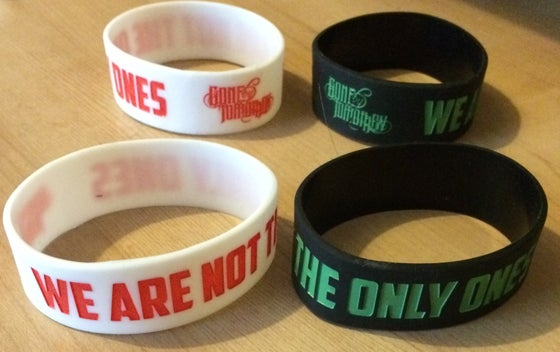 Image of Not The Only Ones Wristband