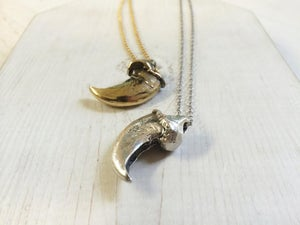 Image of Griz Claw Pendant small