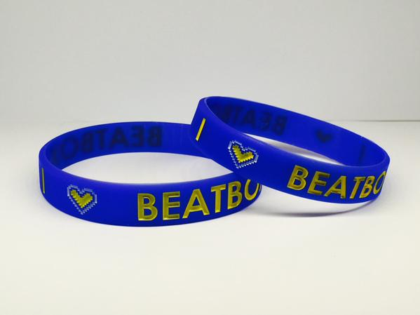 "Image of I Love BEATBOX Wristbands 1/2"" LIMITED EDITION"