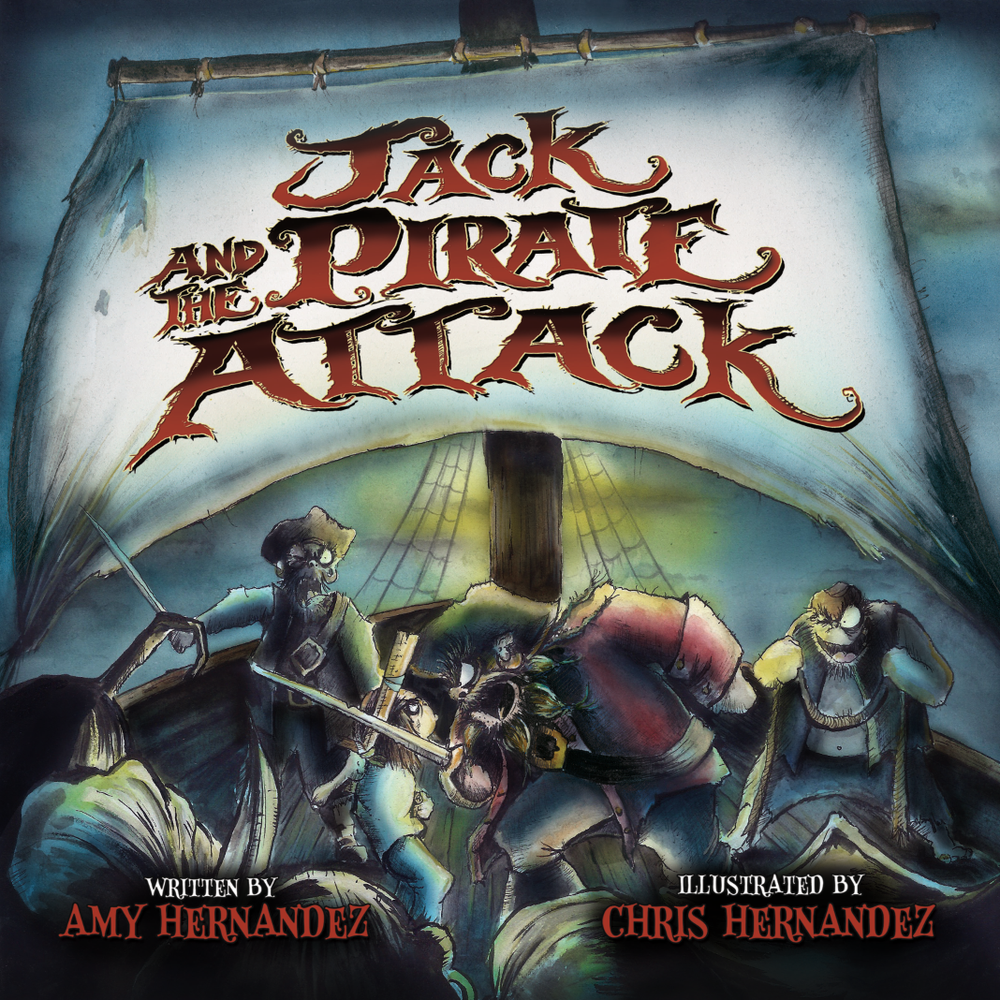 Image of Jack and the Pirate Attack (Hardcover)