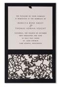 Image of Jessamay Rose Black invitations