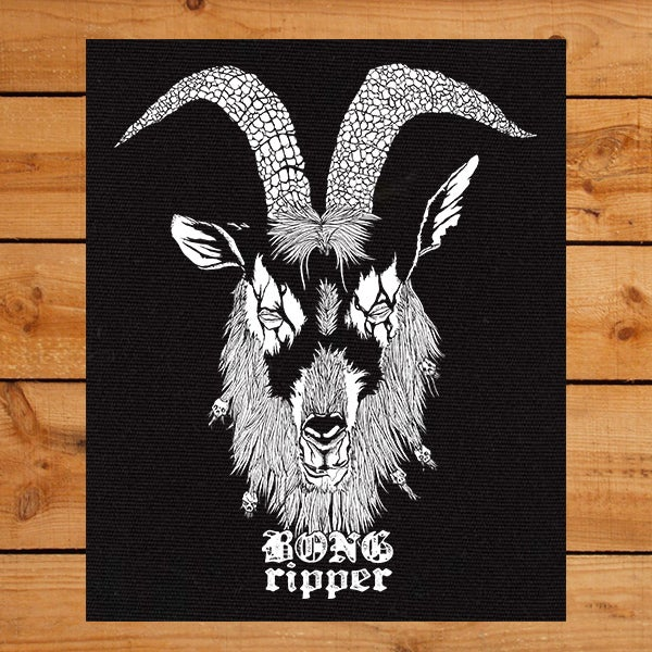 Image of Goat Back Patch ( Pre-Order )