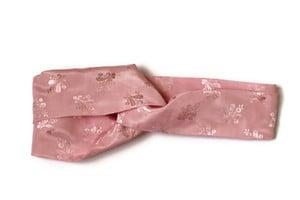 Image of Pink Satin Headband