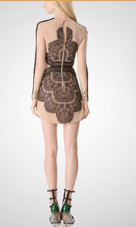 Image of CUTE HOT LACE HANDMADE TOTEM DRESS