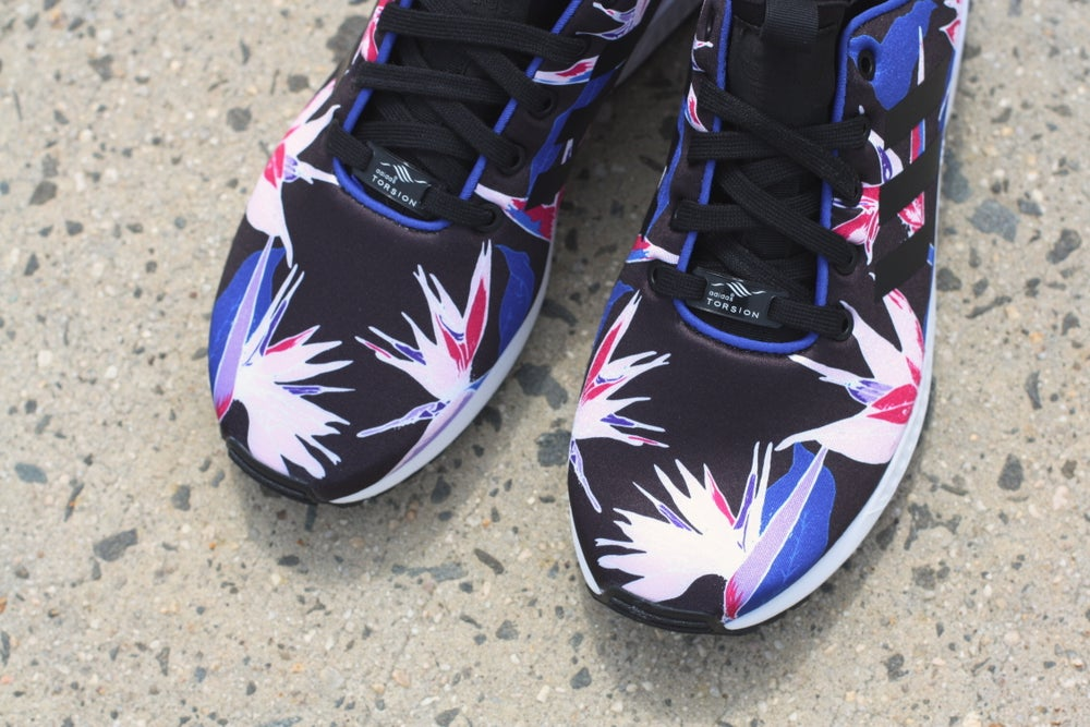 """Image of ADIDAS ZX FLUX NPS """"FLORAL"""""""