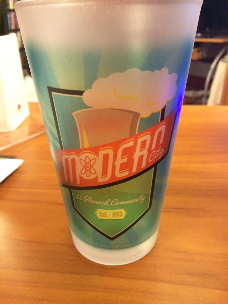 Image of Modern City Pint Glass