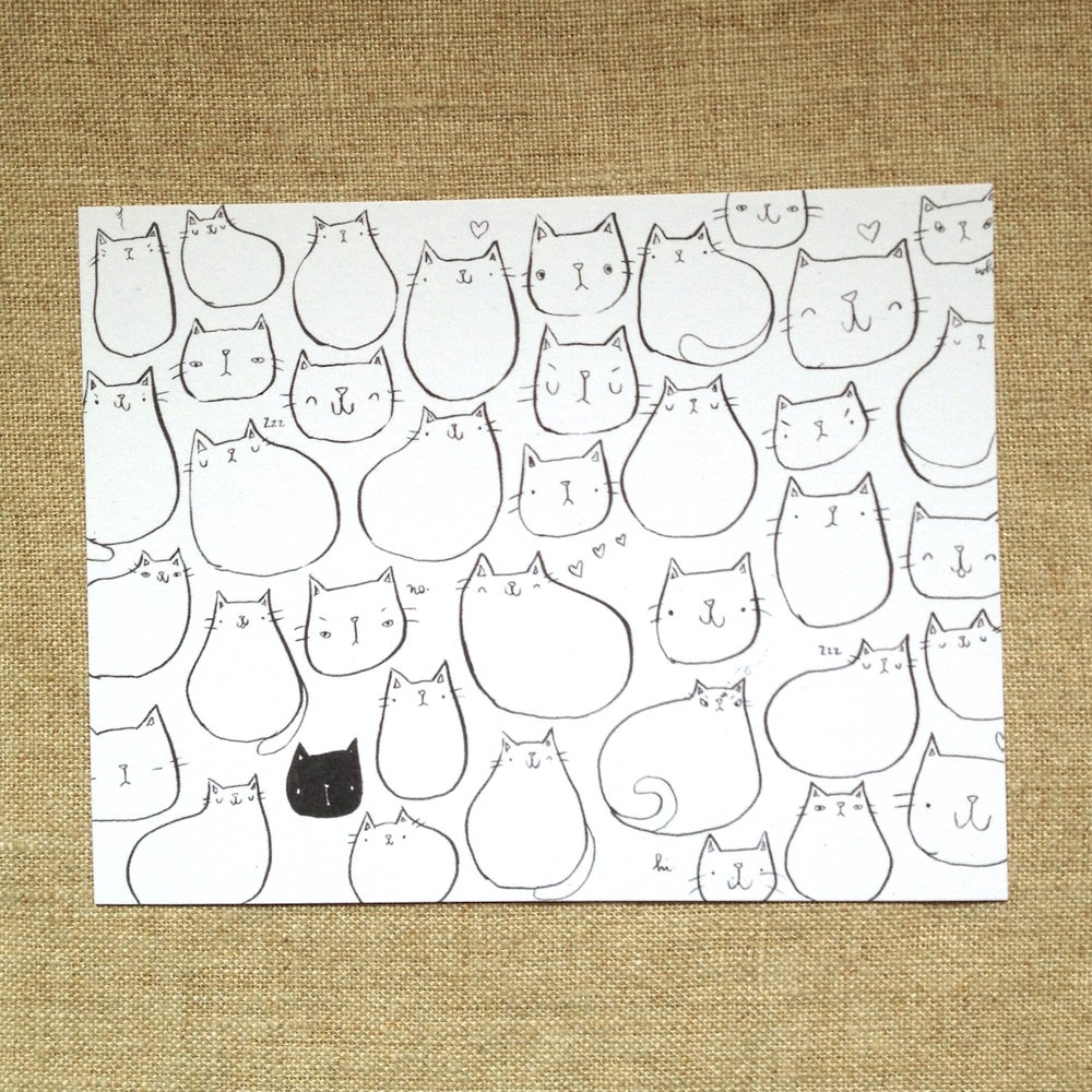 Image of CATS postcards