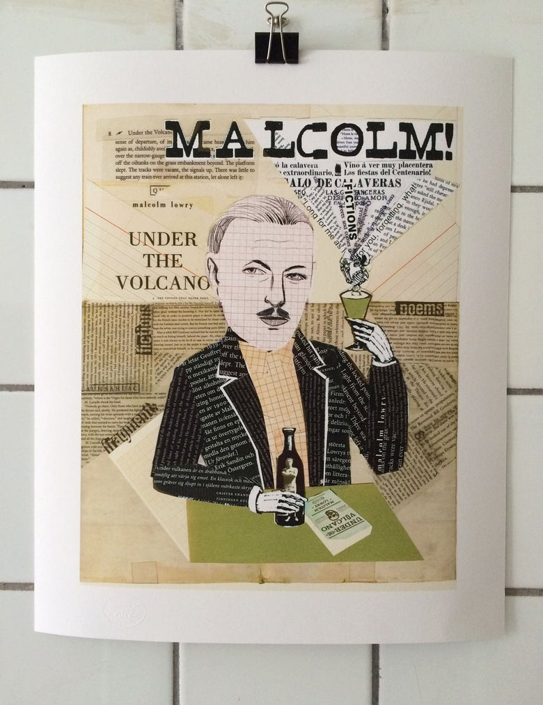 Image of Portrait/Malcolm Lowry