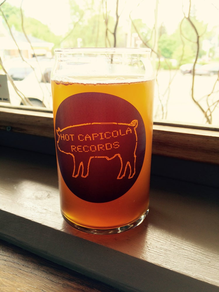 "Image of Hot Capicola ""Beer Can"" Pint Glasses"