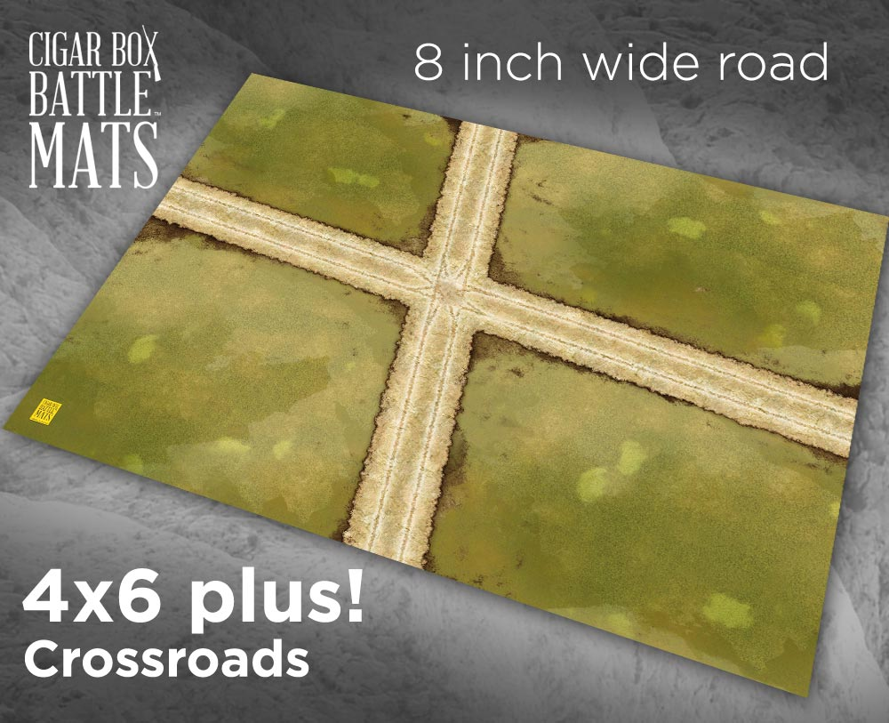 Image of Crossroads -- 8 inch roads -- #182