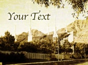 Image of Las Vegas Nevada LDS Mormon Temple Art 005 - Personalized Temple Art