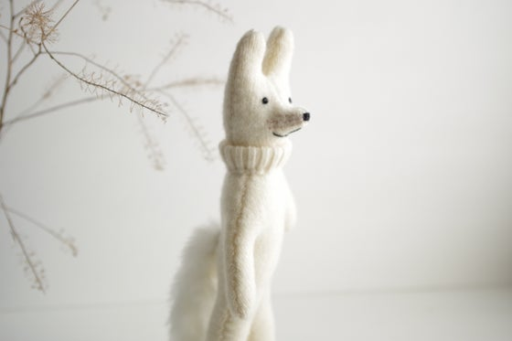 Image of Arctic Fox, small wool friend