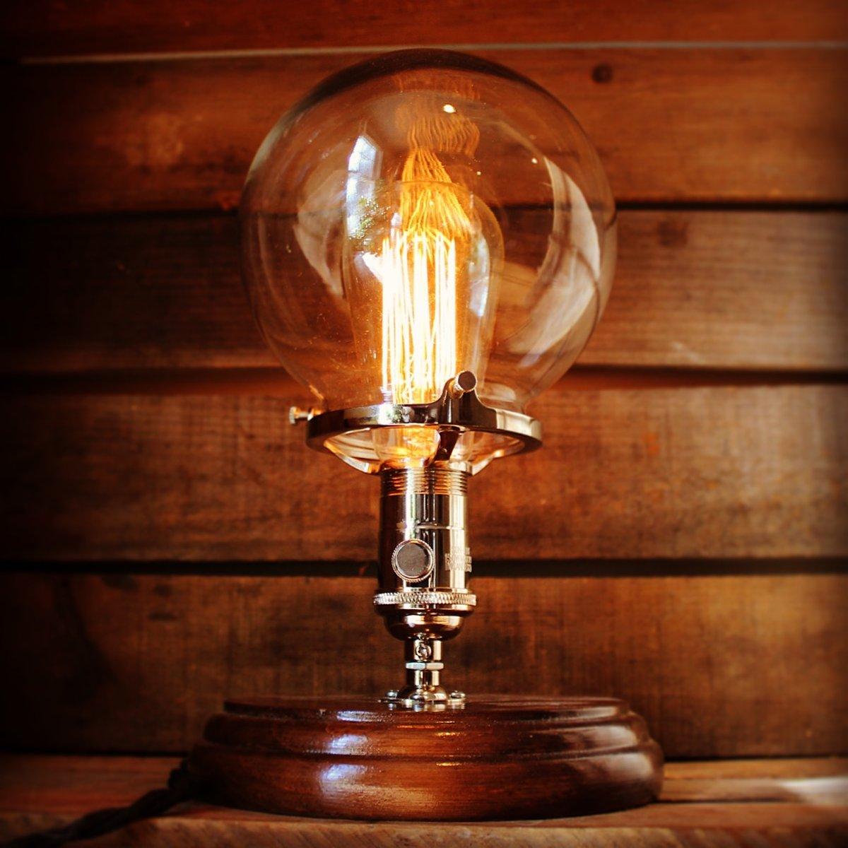 Glass Globe Table Lamp Stonehill Design