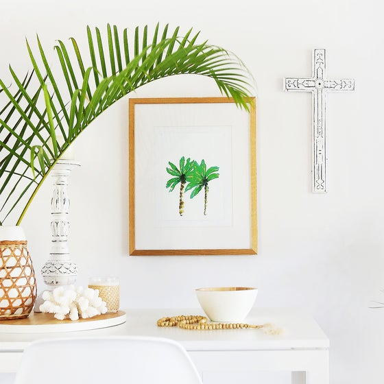 Image of Limited Edition Palm Breeze Print
