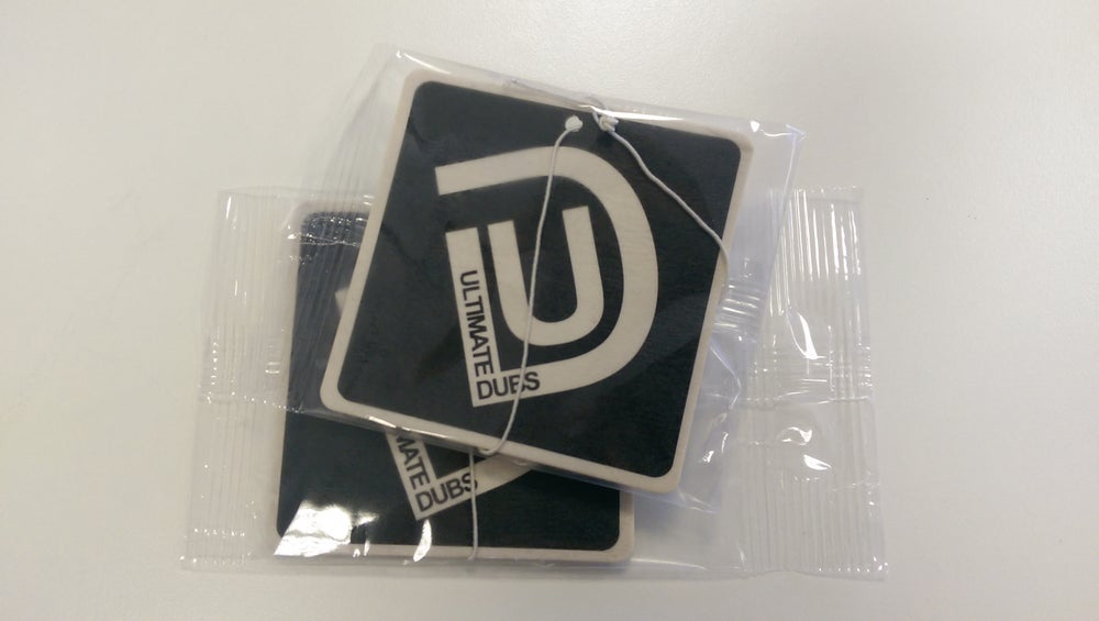 Image of Ultimate Dubs - Car Air Freshener (Twin Pack)
