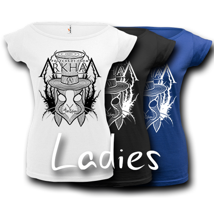 Image of POSTCARDS FROM ARKHAM - Aeon Echoes T-Shirt - Ladies