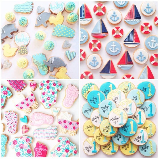 Image of Cookies - Custom Order for Stephanie Wright