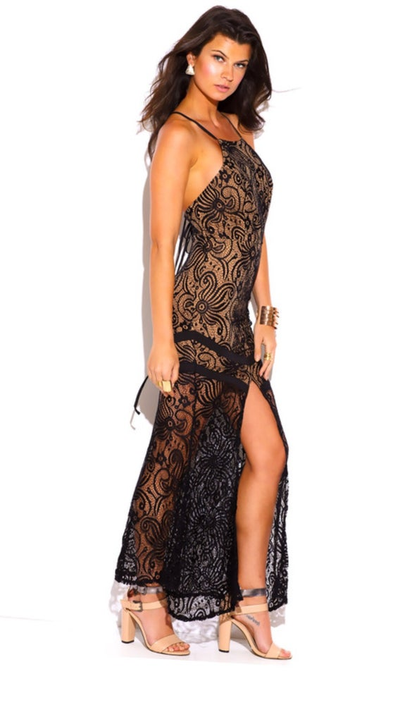 Image of Baroque Maxi Dress
