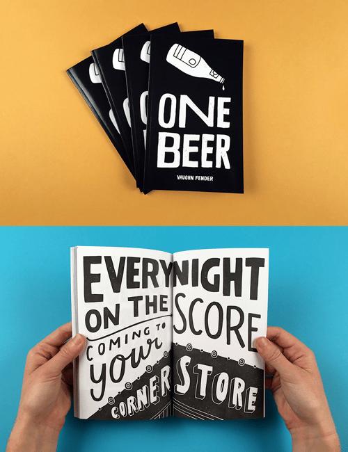 """Image of """"One Beer Zine"""""""