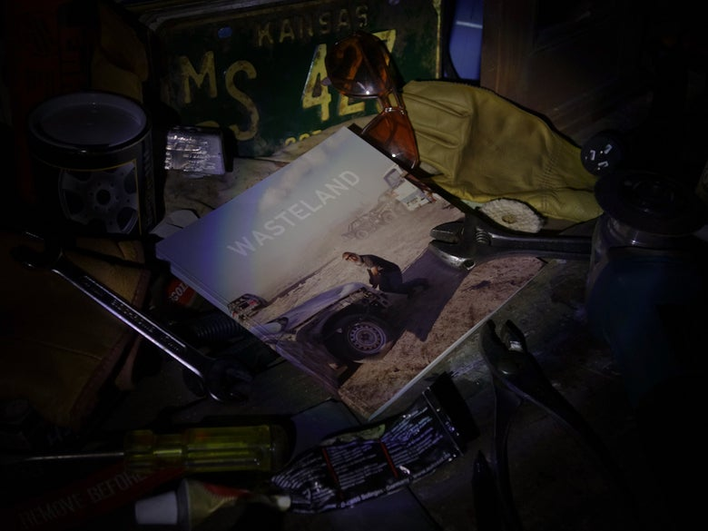 Image of WASTELAND book