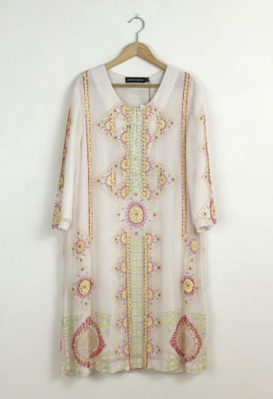 Image of EMBROIDERY DRESS