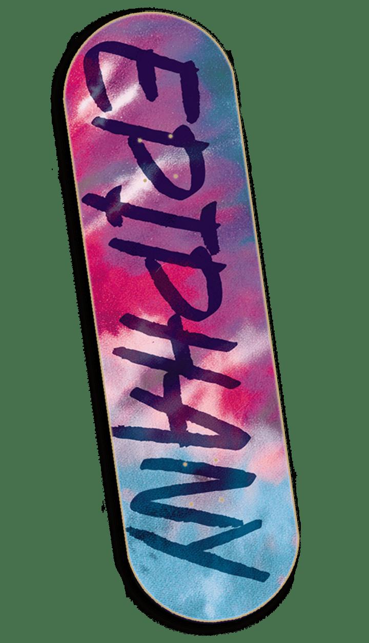 Image of Tie-Dye Deck