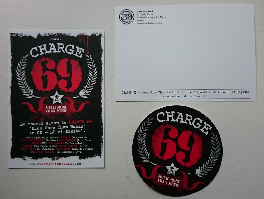 T&M 020 - Charge 69 - Much More Than Music - Volume 1 - CD (FEATURING CHARLIE HARPER)
