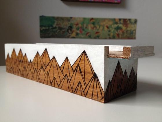 Image of Wood Burn Box (white)