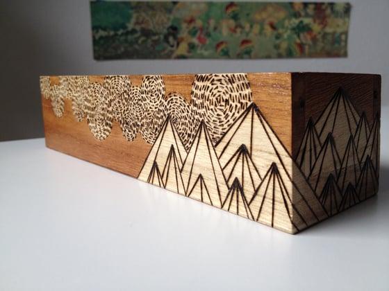 Image of Wood Burn Box (natural)