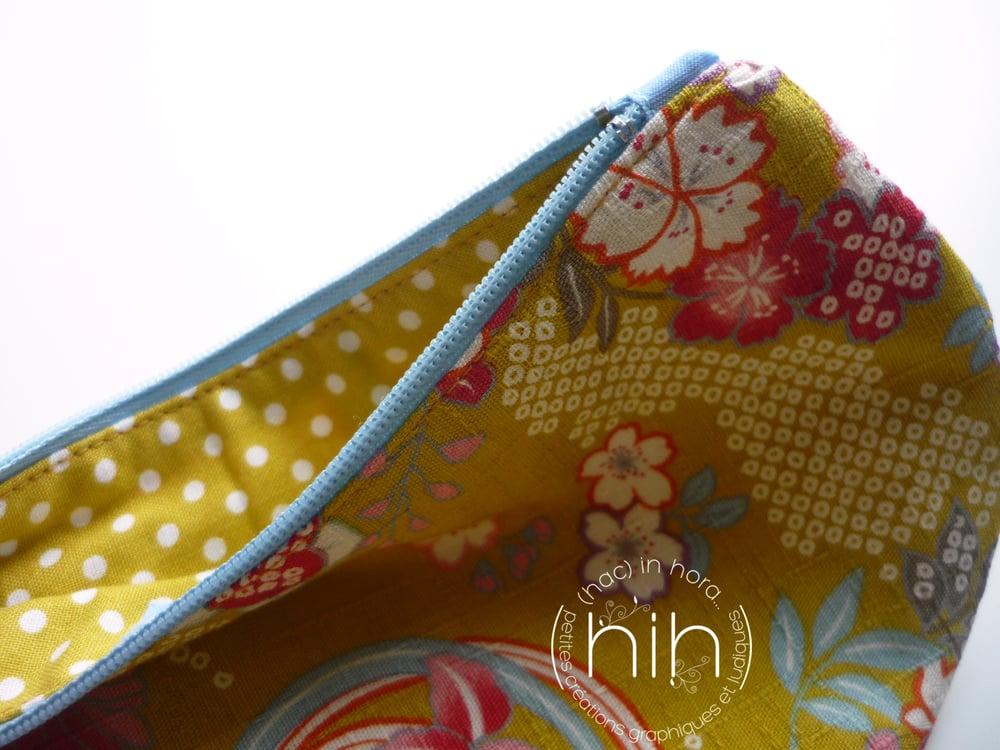 Image of pochette luna / les fleurs japonaises 2