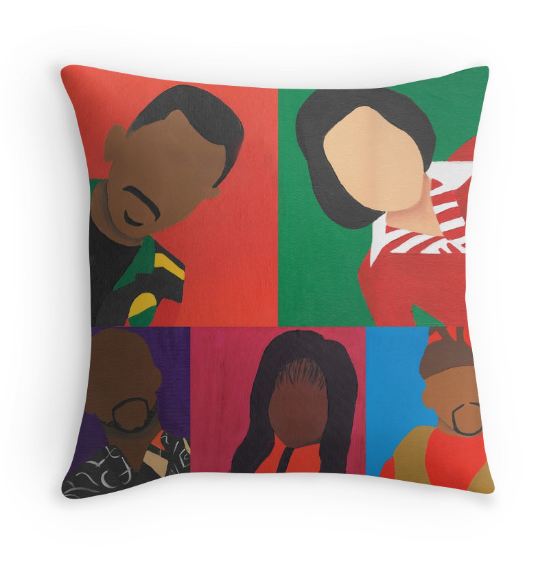 "Image of ""You So Craaaazy"" Throw Pillow"
